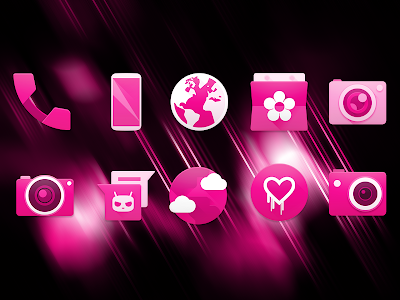 PINK - Icon Pack v2.1