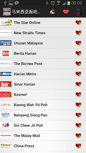 马来西亚报纸和新闻