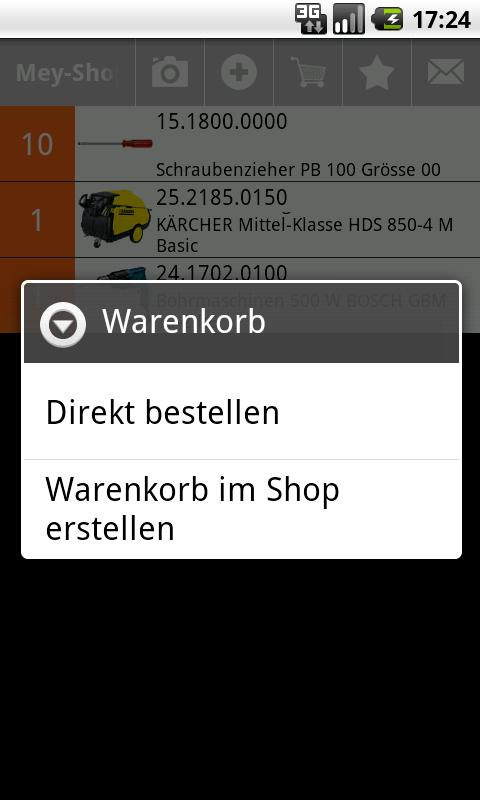 Mey-Shop - screenshot