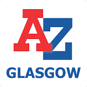 Glasgow A-Z Map by Zuti