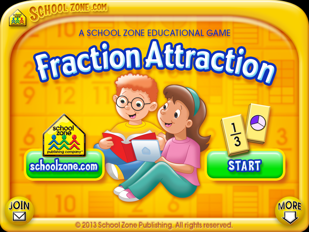 Fraction Attraction - screenshot