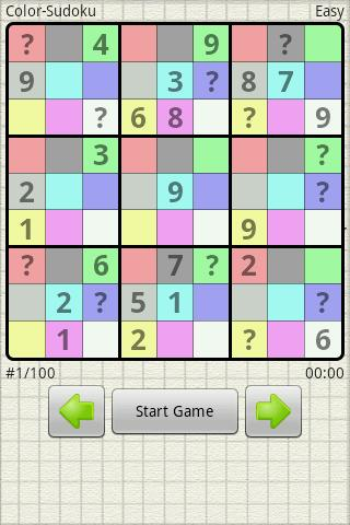 Sudoku 100 - screenshot