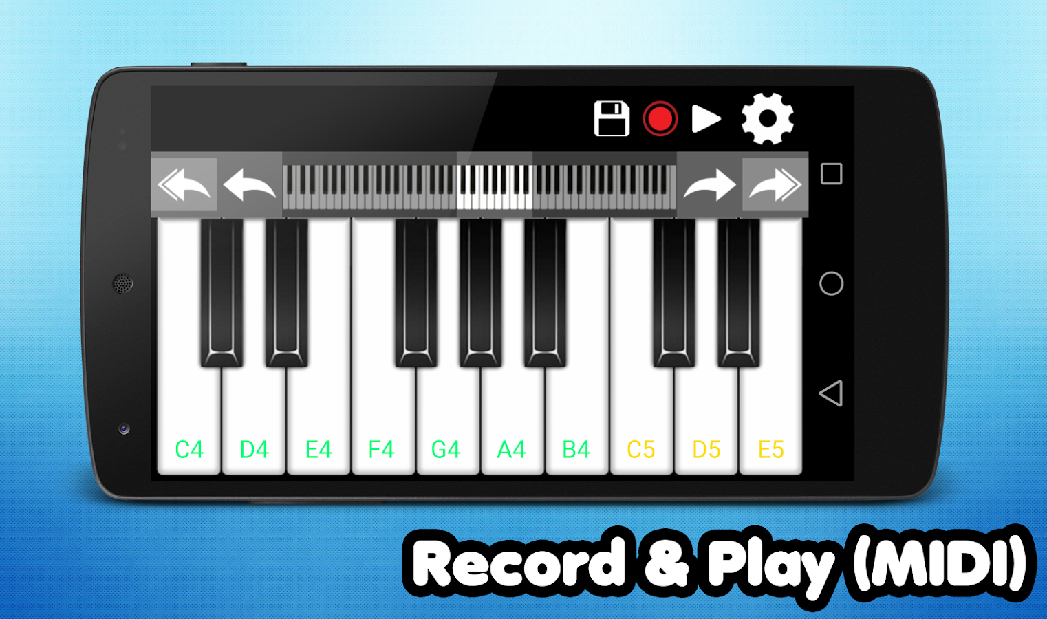 Piano android apps on google play piano screenshot hexwebz Gallery