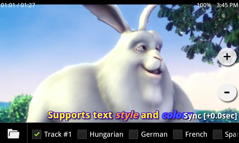 MX Player Codec (ARMv5) - screenshot