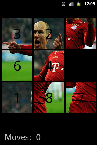 Ballon d'Or Puzzle - screenshot