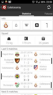 Türk Futbol - Süper Lig Ekran Görüntüsü