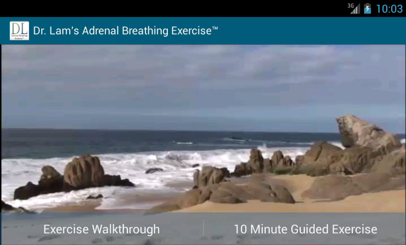 Adrenal Breathing Exercise™ - screenshot