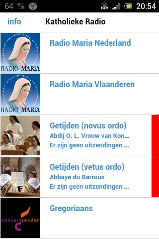 Katholieke Radio - screenshot