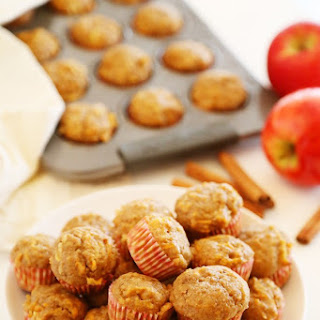 Apple Cinnamon Sweet Potato Mini Muffins