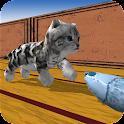 Cu Cat in Fish Factory Dash icon