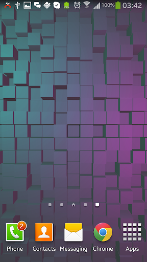 Cubes 2 3D Live Wallpaper