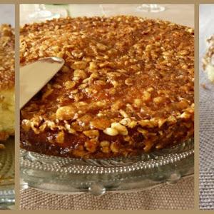 Vanilla Crumble Coffee Cake.