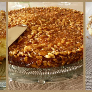 Vanilla Crumble Coffee Cake..