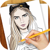 Learn to Draw Fashion Models