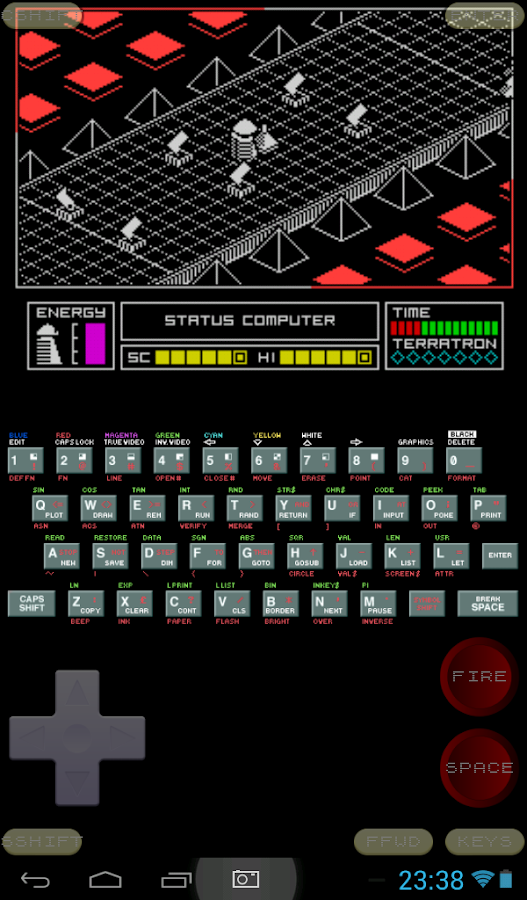 Speccy - ZX Spectrum Emulator - screenshot