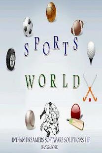 SportsWorld - screenshot thumbnail