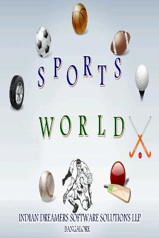 SportsWorld - screenshot