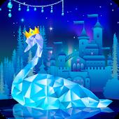 Snowy Swan Lake Live Wallpaper