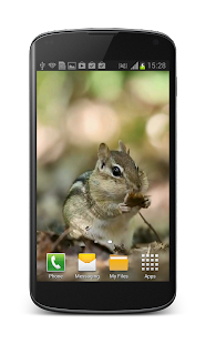 Little Chipmunk 3D Wallpaper- screenshot thumbnail