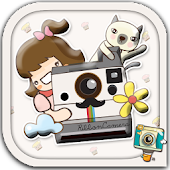 Ribbon Camera by PhotoUp