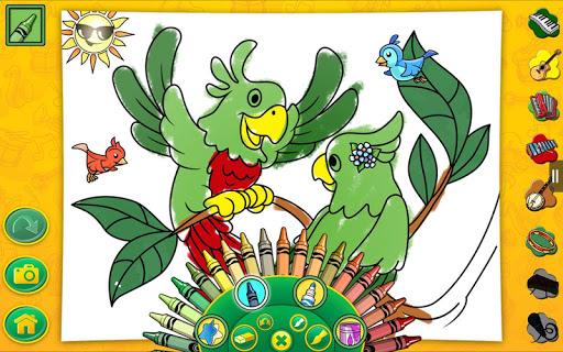 Crayola 涂色,绘画,歌唱