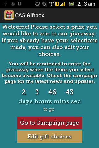 CompAndSave GiftBox - screenshot