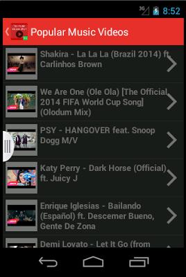 Top Music Videos 2016 - screenshot