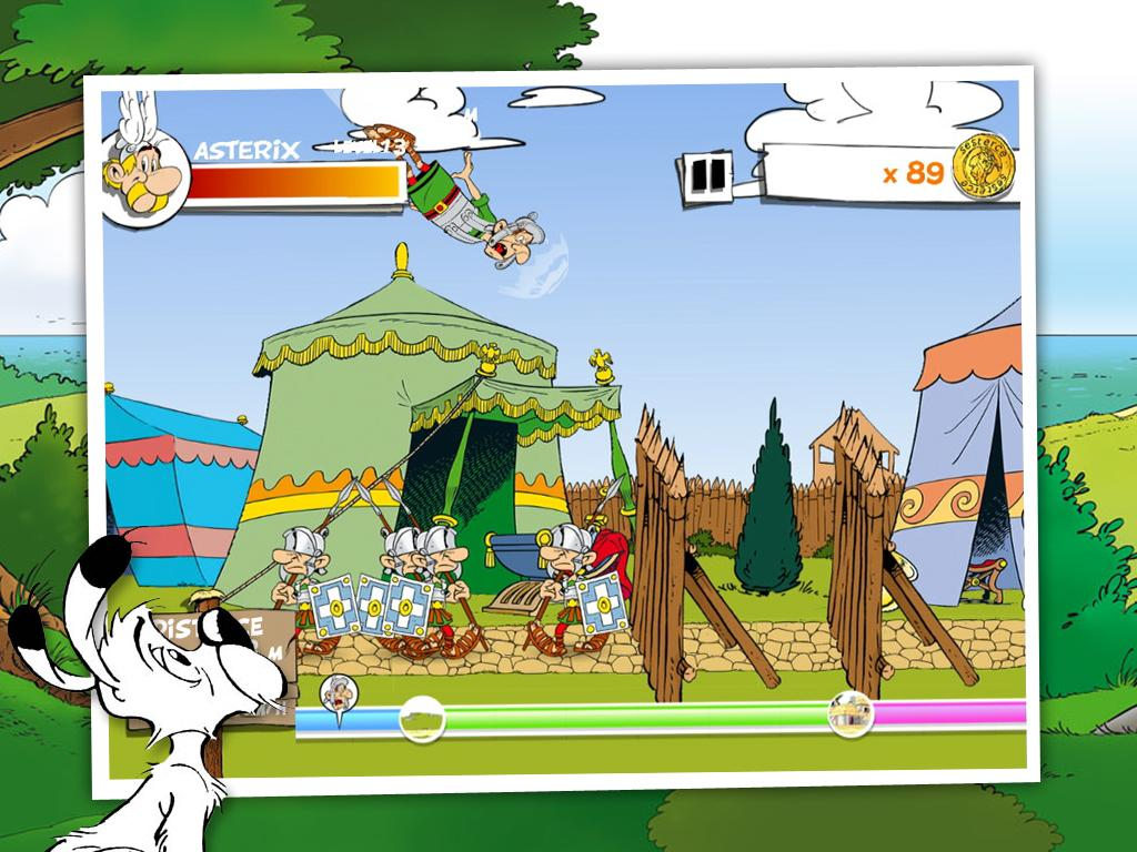 Asterix Megaslap- screenshot