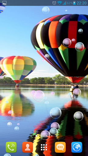 Air Balloons Live Wallpaper