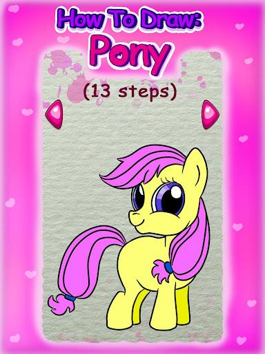 How To Draw: Pony