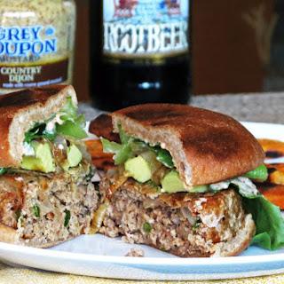 Healthy Spicy Turkey Burgers.