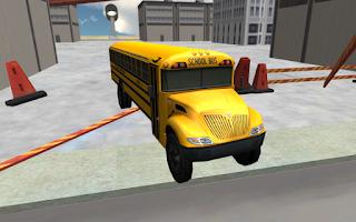 Screenshot of School Bus Driving 3D