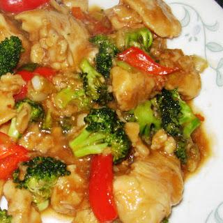 General Tso's Chicken Stir Fry.