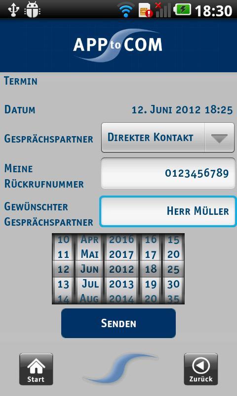 APPtoCOM Steuerberater App- screenshot