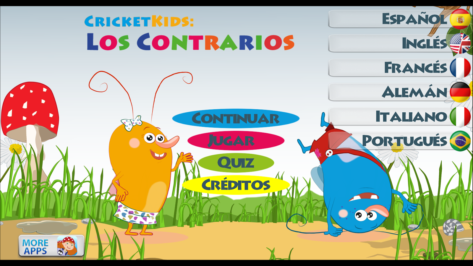 Cricket Kids: Los contrarios: captura de pantalla