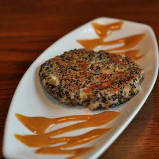 Tandoori Quinoa Cakes with Garden Herbs