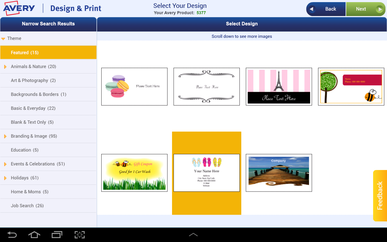 Avery Design Print Android Apps on Google Play