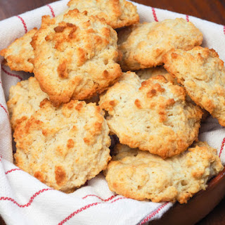 Quick and Easy Drop Biscuits.