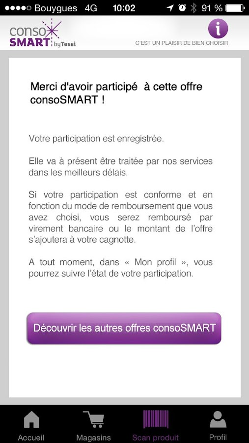 consoSMART - screenshot
