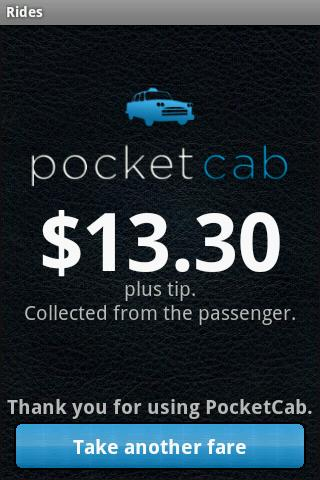 PocketCab Driver- screenshot
