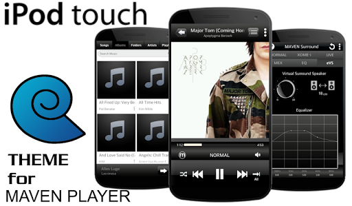 MAVEN Player IPOD TOUCH skin