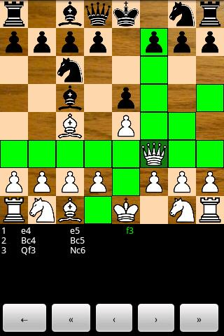 Chess for Android - screenshot