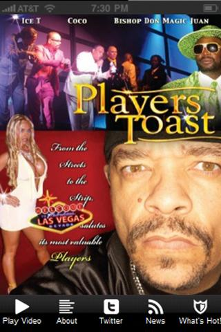 Ice-T's Players Toast