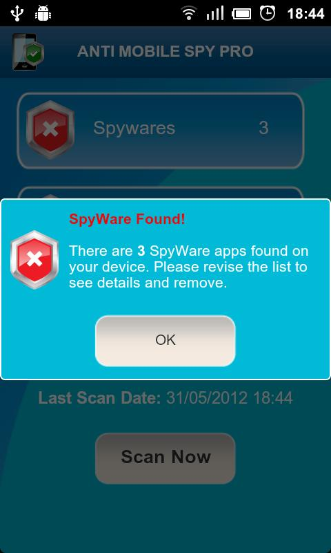 Anti Spy Mobile Free- screenshot
