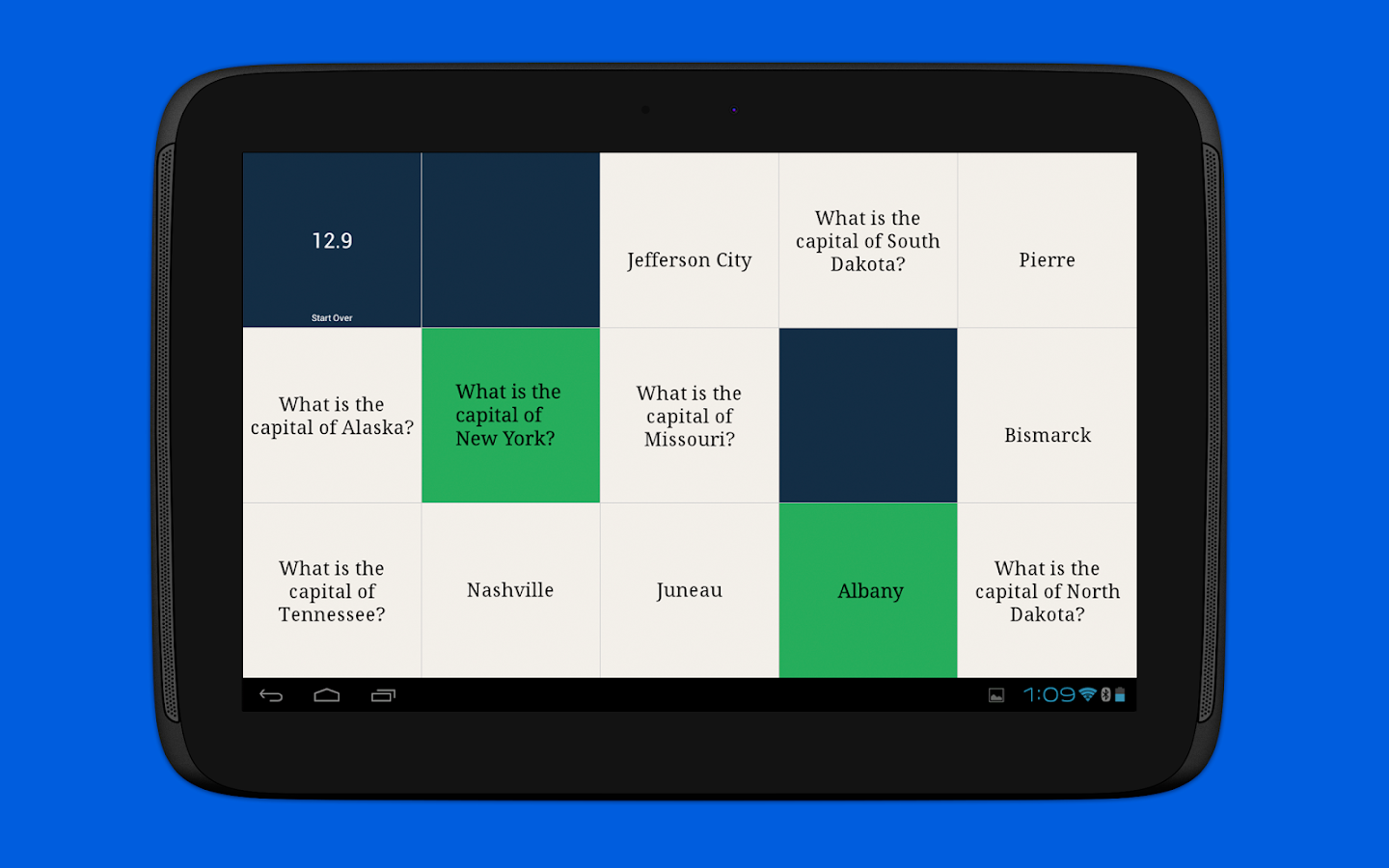 Quizlet- screenshot