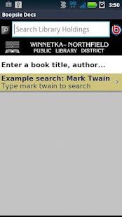Winnetka-Northfield Library- screenshot thumbnail