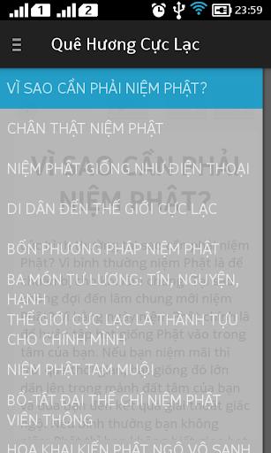 Quê Hương Cực Lạc audio