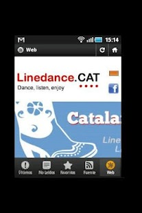 Linedance.cat English- screenshot thumbnail