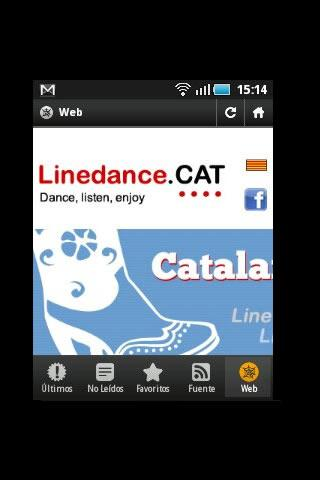 Linedance.cat English - screenshot
