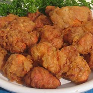 Fried Chicken Chunks (Chicharrones De Pollo) Dominican.